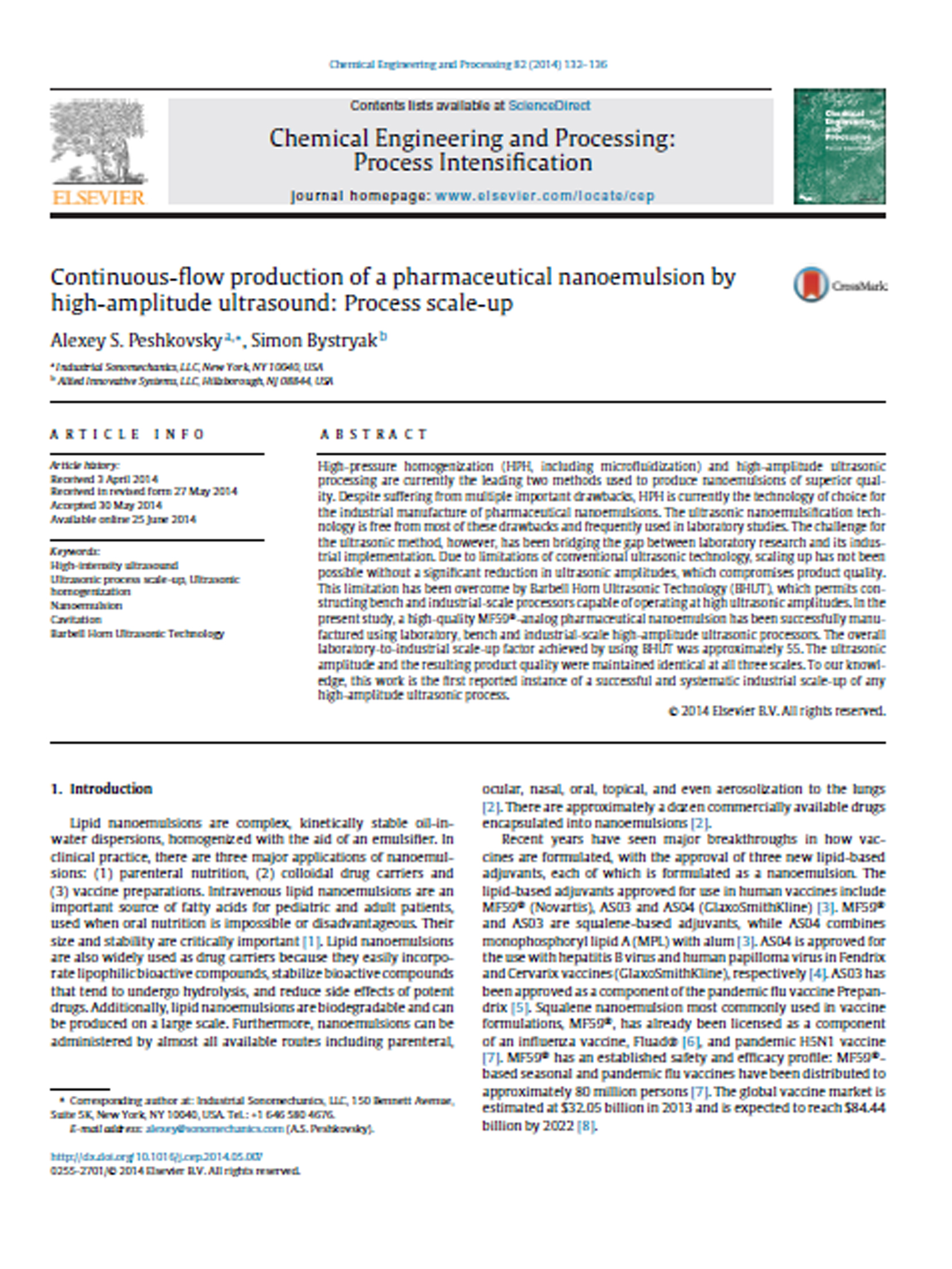 m_Continuous-Flow_Production_of_a_Pharmaceutical_Nanoemulsion_by_High-Amplitude_Ultrasound_-_Process_Scale-up